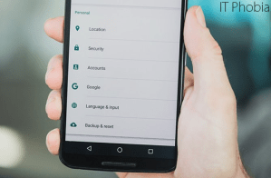 Android 6.0.1 Marshmallow Google Settings App