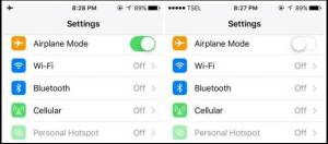 iPhone wont connect to Wi-Fi Airplane mode