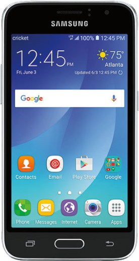 Samsung Galaxy Amp 2 Review - Front look