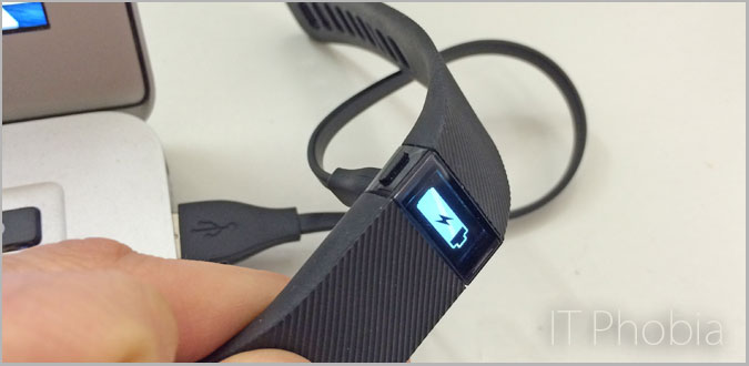 battery life Fitbit charge - charging