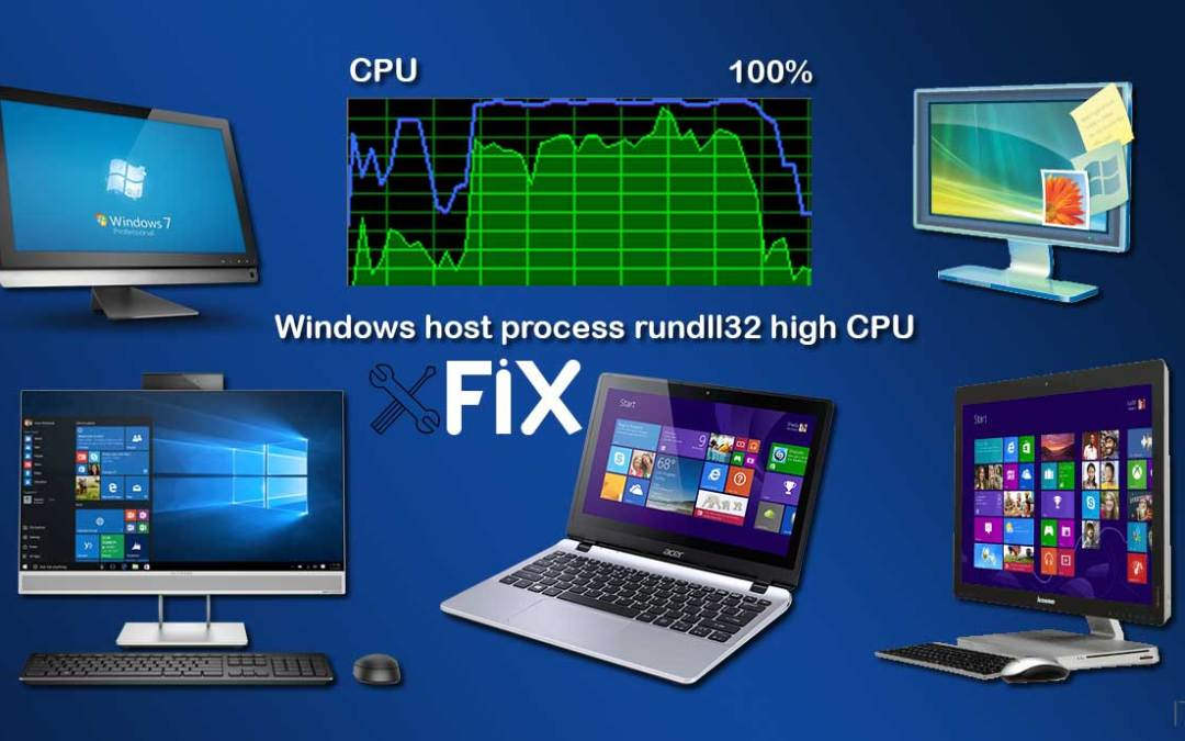 Windows host process rundll32 high CPU usage Fix – The Easiest Method
