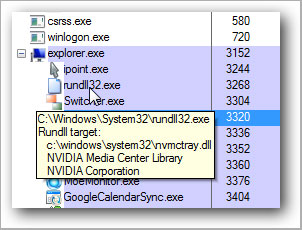 windows host process rundll32 high CPU -rundll32