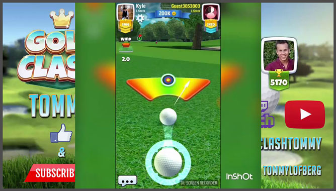 hot games for android - Golf Clash