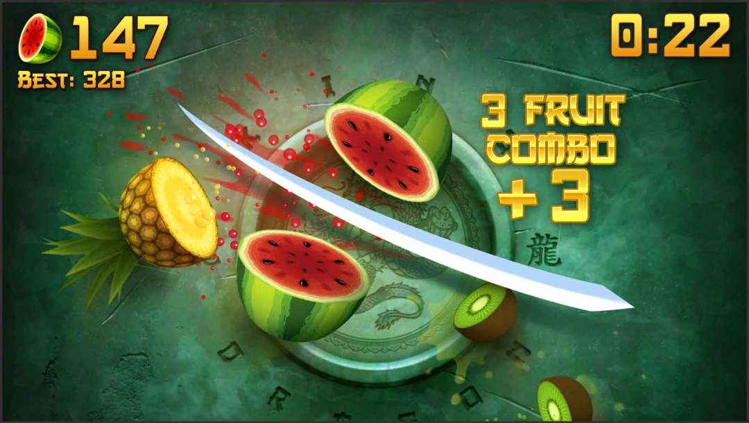 top 10 android games of all time - Fruit Ninja Free