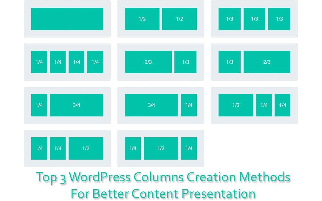 WordPress Columns Featured Image