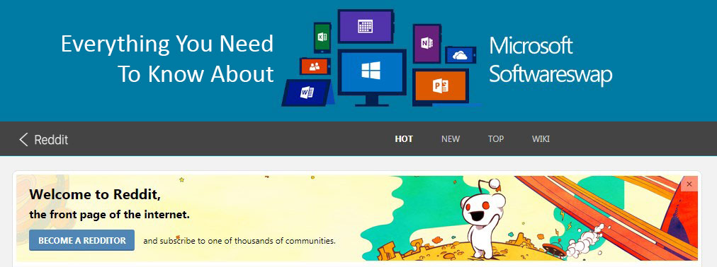 Everything You Need To Know About Microsoft Software Swap