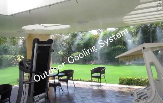 Outdoor cooling system