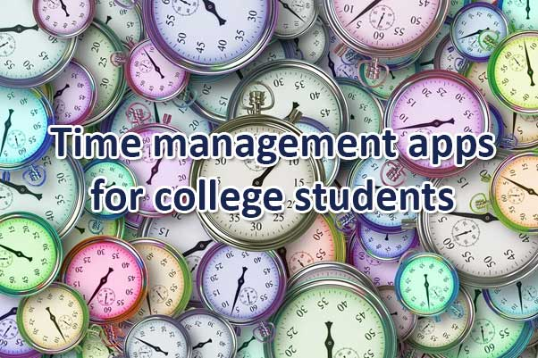 Time management apps for college students to maintain time properly