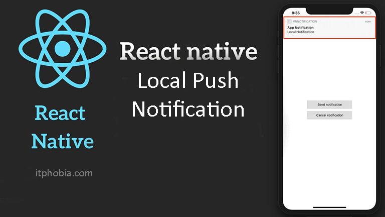 react native push notification