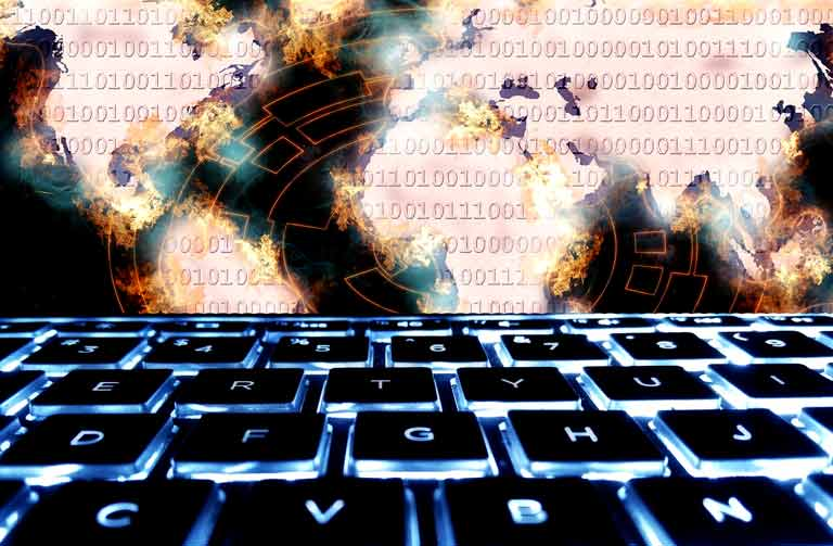 Which entities help create modern malware and why?