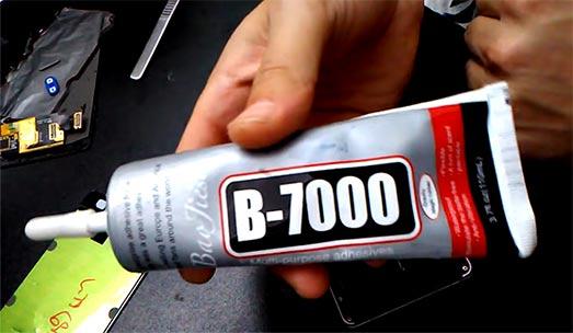 best adhesive for cell phone repair MMOBIEL B-7000