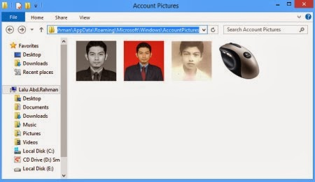 Account Pictures Windows 8