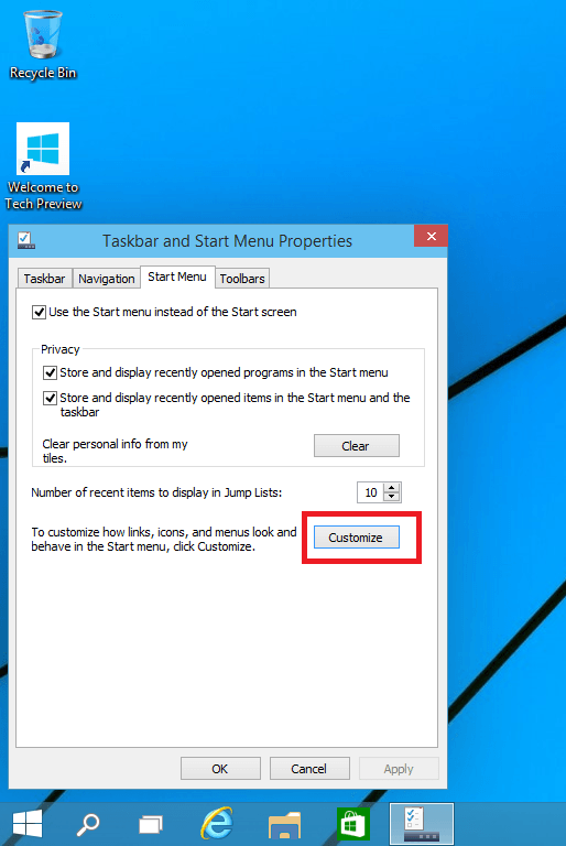 customize-start-menu-Windows-10