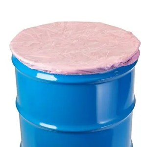 Elasticated Polythene Drum Cover