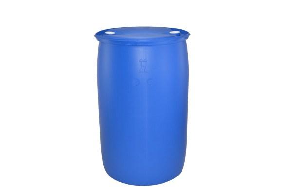 220 litre Tight Head Blue Plastic Drum