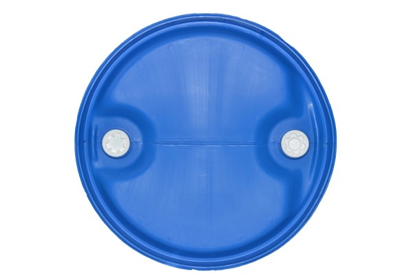 120 litre plastic drum from above