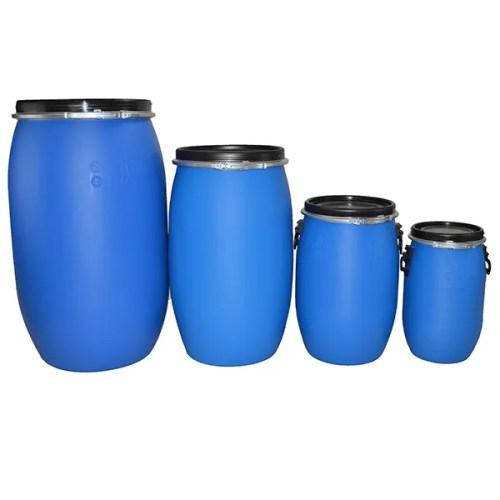 Blue Plastic Drum Family