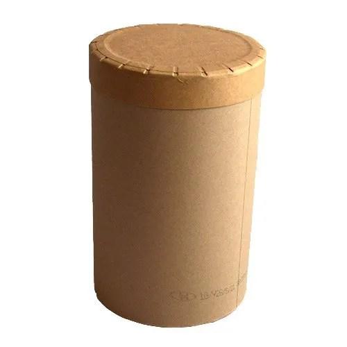 Fibre drum with fibre lid