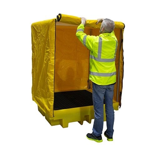 Cover Four Drum Spill Pallet