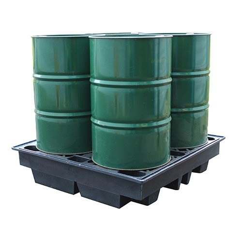 Recycled 4 Drum Spill Pallet