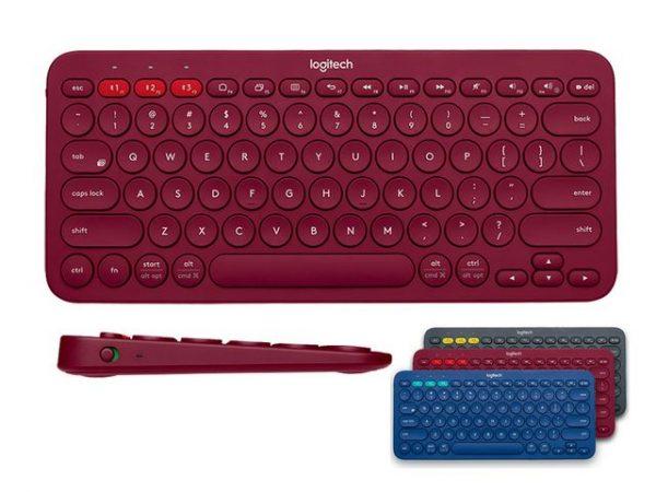 Logitech lanserer vaskbart tastatur