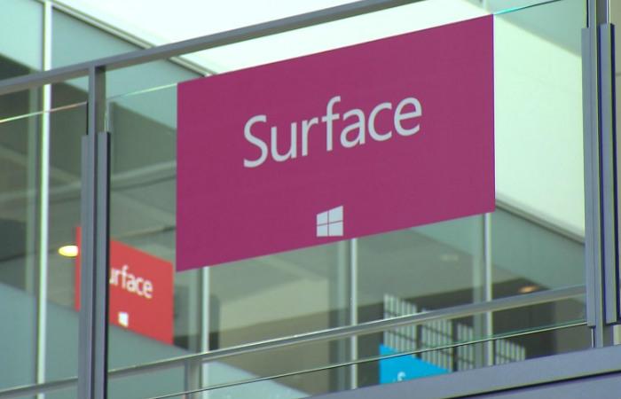 Bli med bak kulissene i Surface-laben