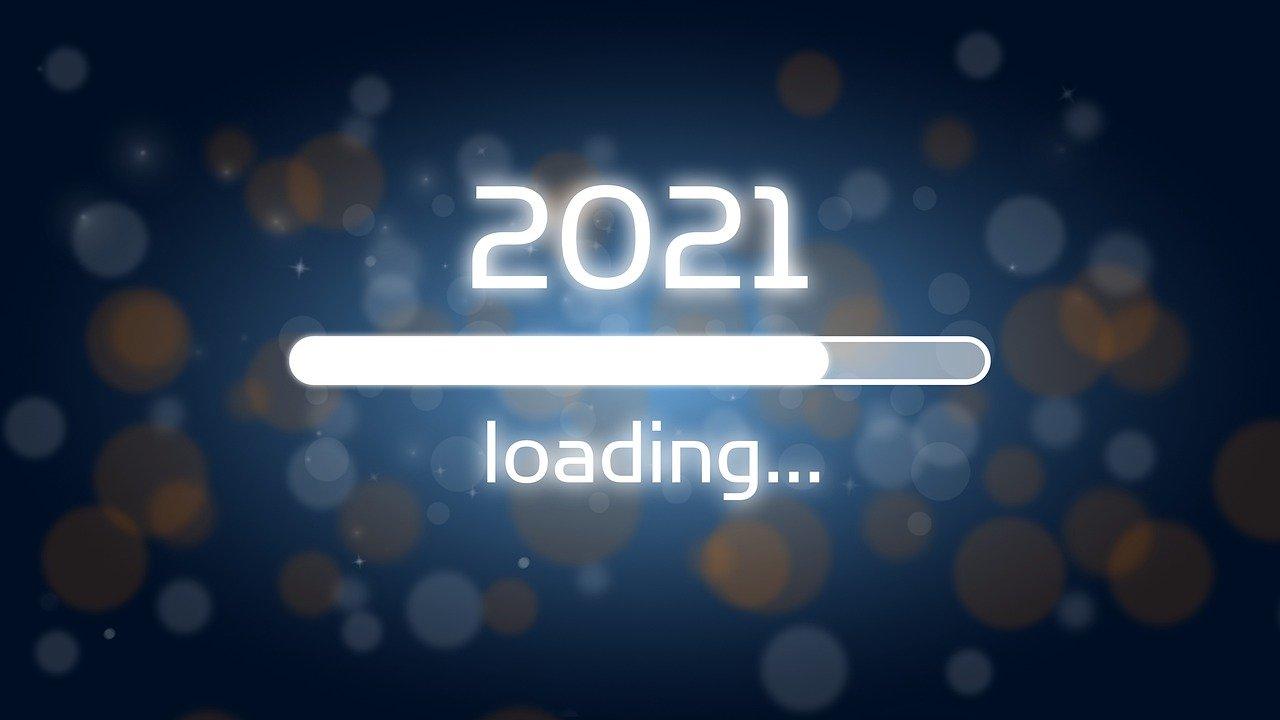 loading bar, 2021, new year's eve