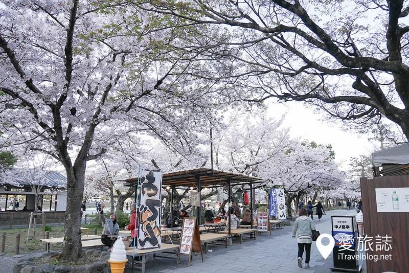 《京都賞櫻景點》% Arabica Kyoto:拉花咖啡伴賞嵐山櫻花風情