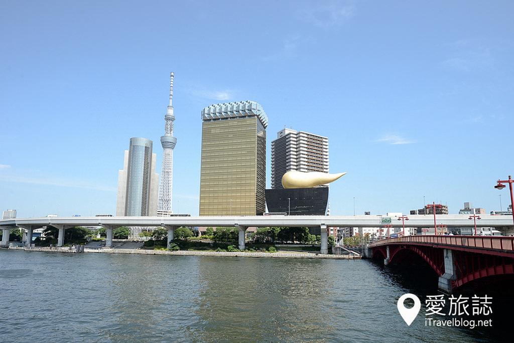 《東京遊船體驗》東京水上觀光汽船:遊覽隅田川水岸城市風光