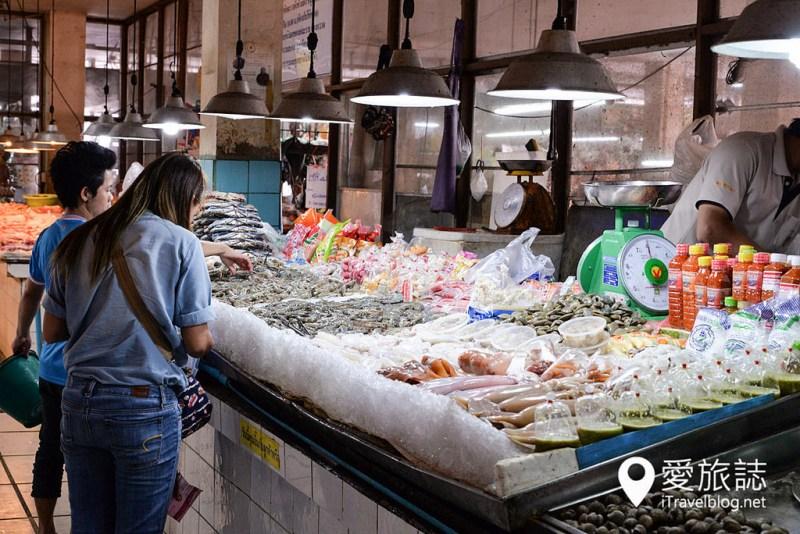 《清邁市集即景》塔尼市場:清邁古城北門外在地傳統市場