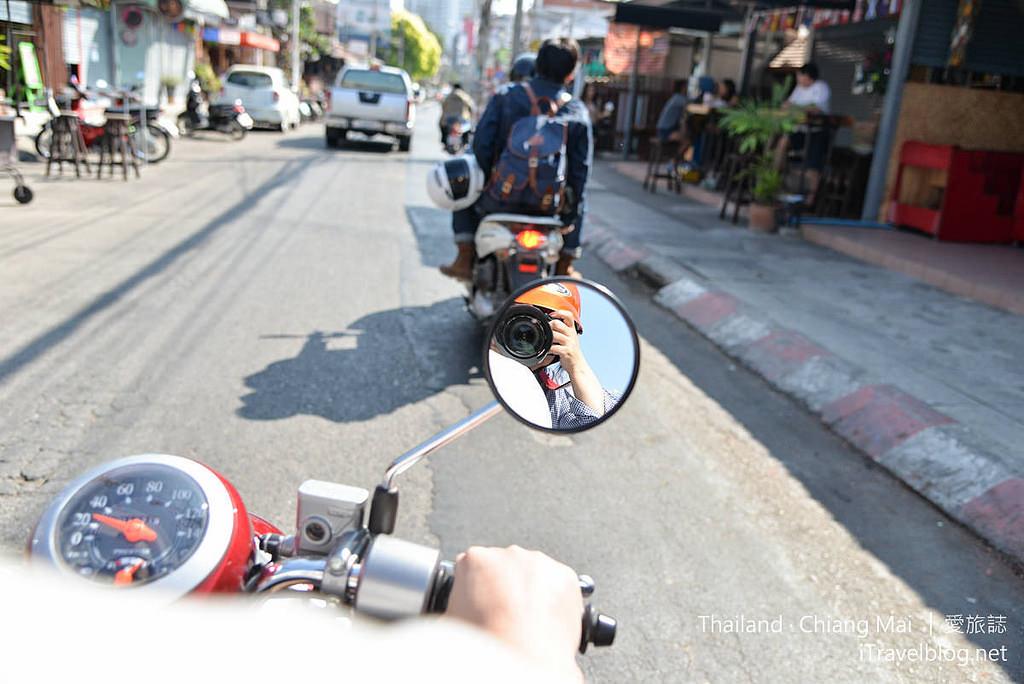 《清邁租機車實錄》租機車教學:輕鬆暢遊清邁市區景點