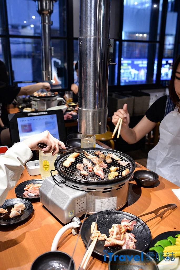 《福岡美食推薦》カルビ市場:博多車站旁無煙燒肉吃到飽