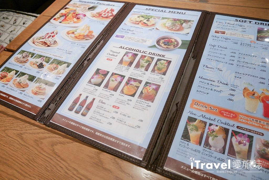 《東京下午茶推薦》Hawaiian Pancake Factory:搖搖裙擺阿囉哈來份熱夯綜合水果鬆餅搭配夏威夷鳳梨柑橘汽水