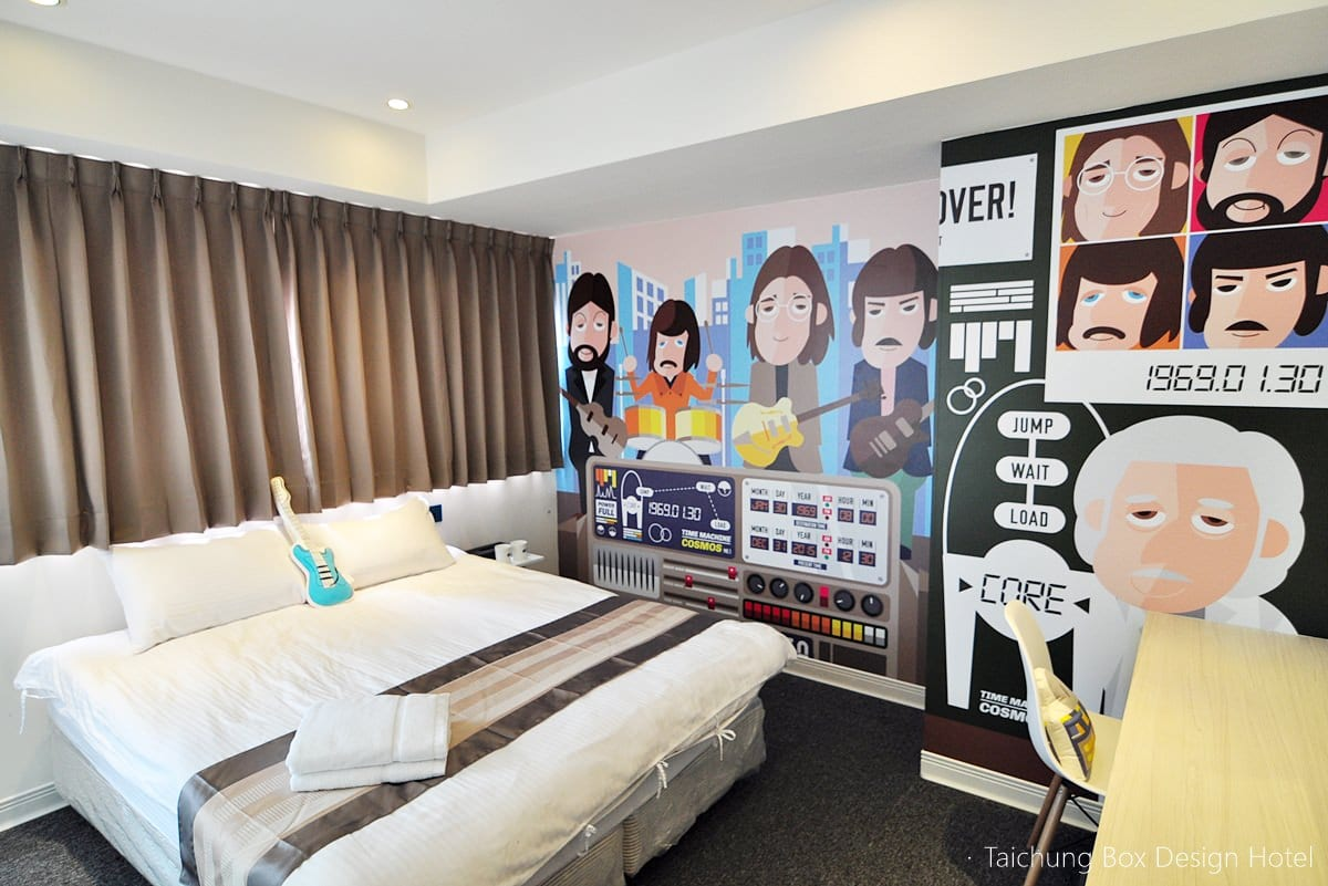 The 12 New Open Hotels and Hostels in Taichung in 2015, Taiwan.