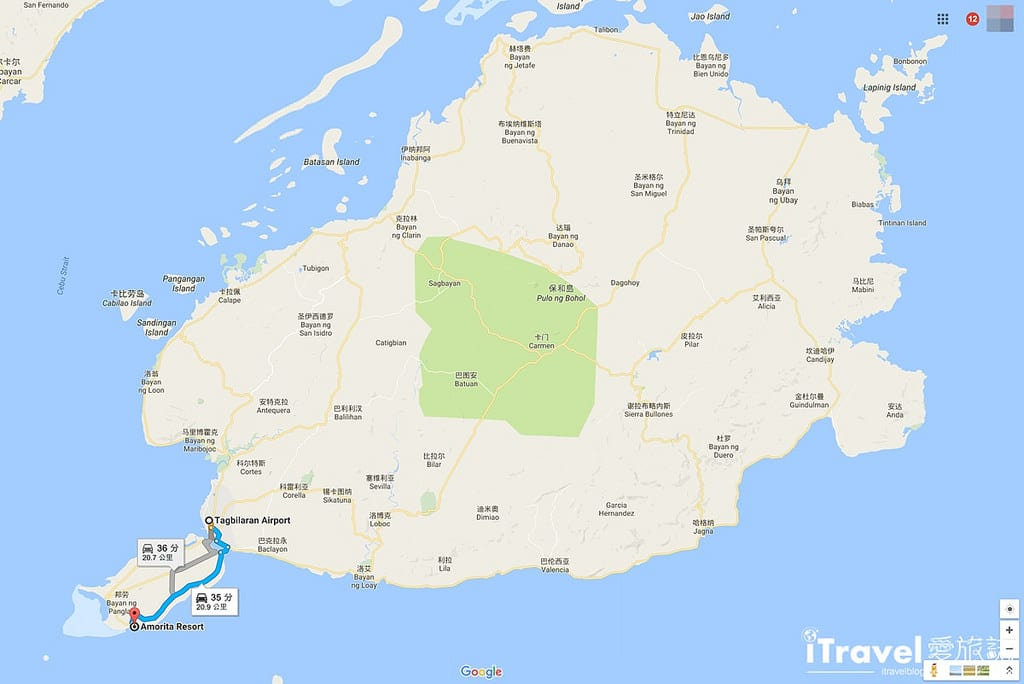 《菲律賓飯店推薦》阿莫里塔度假村:海天一色宿霧薄荷島