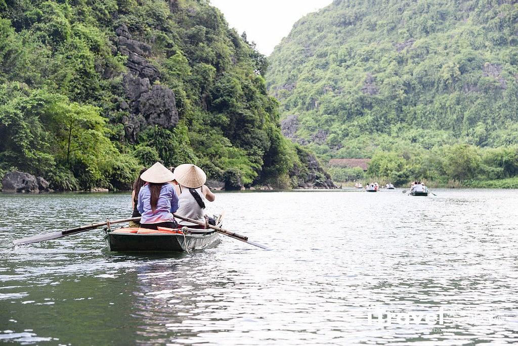 《寧平遊船體驗》陸龍灣長安名勝群遊船:陸地版下龍灣行舟