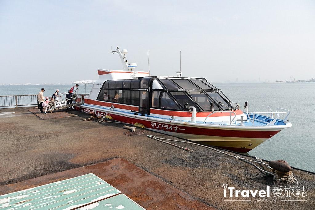 《福岡乘船體驗》博多灣汽船航線:快速往返海之中道與福岡塔