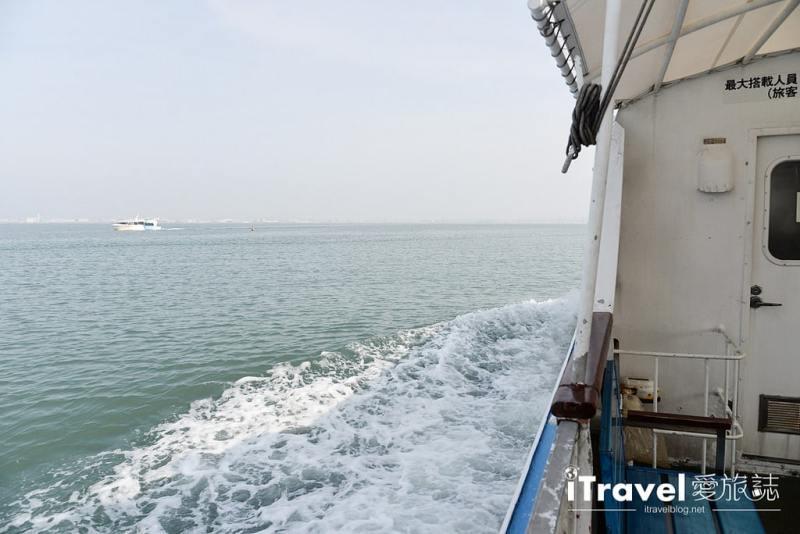 《福岡乘船體驗》博多灣汽船航線:搭乘安田海上接駁船,快速往返海之中道與福岡塔兩地景點