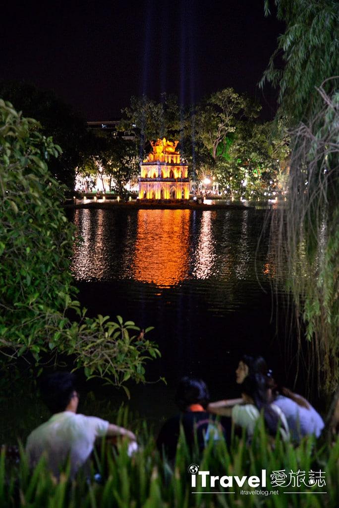 《河內景點推薦》還劍湖:河內舊城區三十六古街旁地標景點