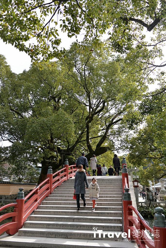 《福岡景點推薦》太宰府天滿宮:學子求學之路平順,冬梅夏綠風景各自擅場。