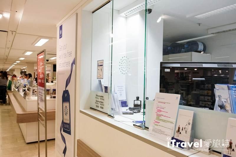 《科隆購物血拼》Galeria Kaufhof 考夫霍夫百貨公司:希爾德街與霍赫大街交叉口,Globe Blue環球藍聯退稅辦理教學