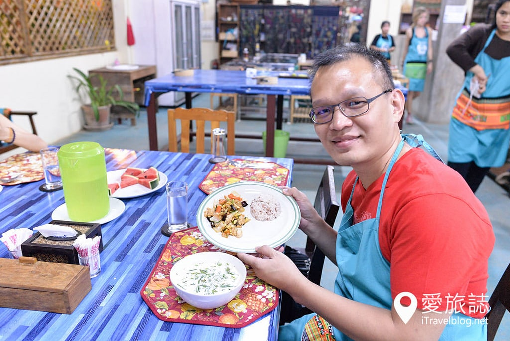 《清邁泰菜學習》Mama Noi廚藝課程:有機花園農場料理體驗