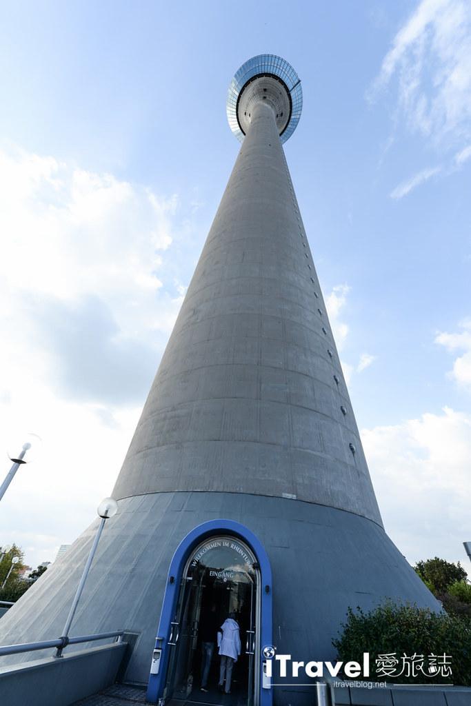 杜塞道夫景點 萊茵塔Rheinturm (10)
