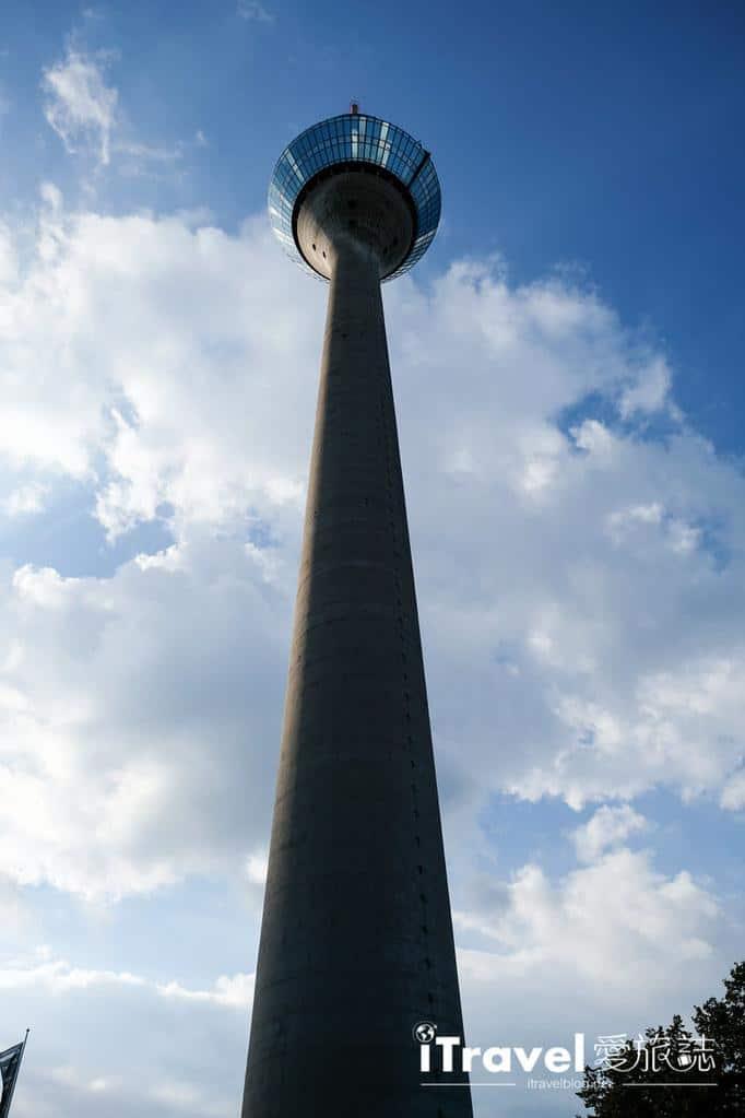 杜塞道夫景點 萊茵塔Rheinturm (9)