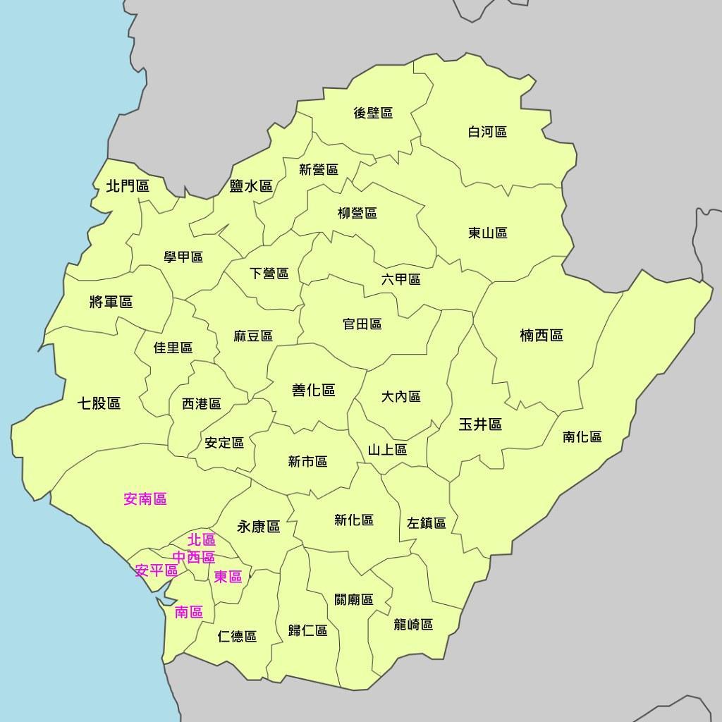 Tinan Map