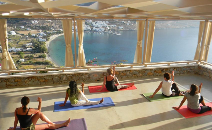 Διακοπές για yoga στην Ελλάδα - iTravelling