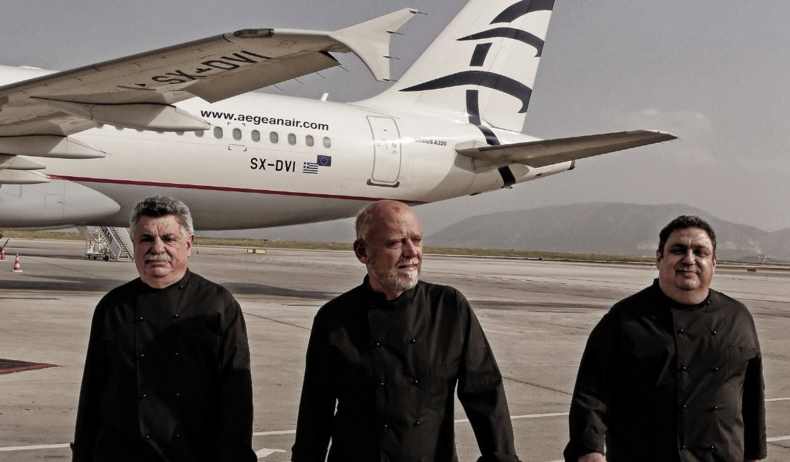 Aegean Airlines: Ταξιδεύουμε με τους μεγαλύτερους Έλληνες σεφ - iTravelling