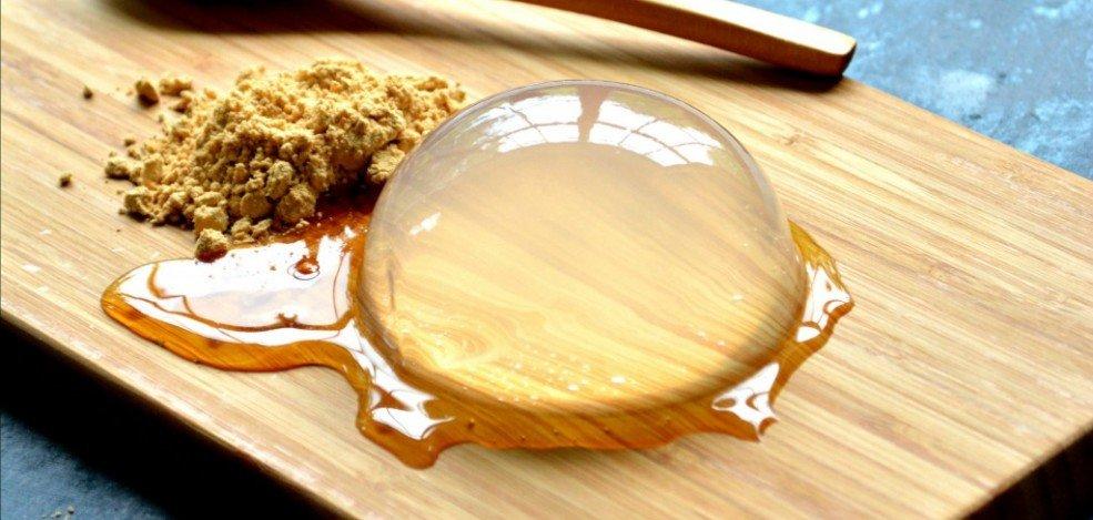 Mizu Shingen Mochi: Ένα διάφανο, jelly κέικ βανίλια - iTravelling