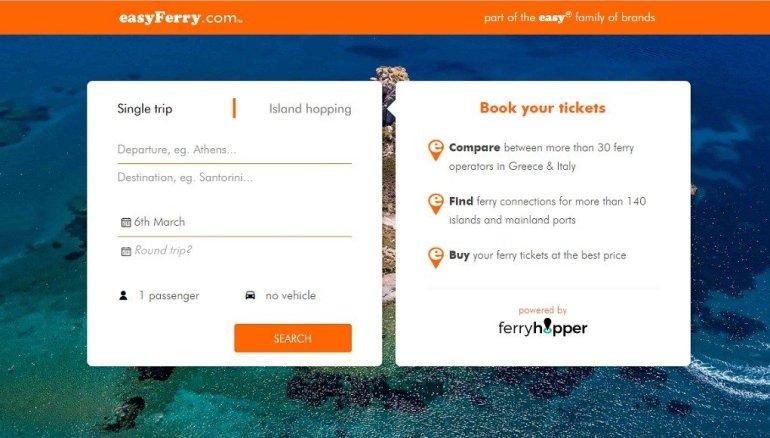 easyFerry: Η νέα εφαρμογή για να κλείνεις ακτοπλοϊκά εισιτήρια στη στιγμή! - itravelling.gr