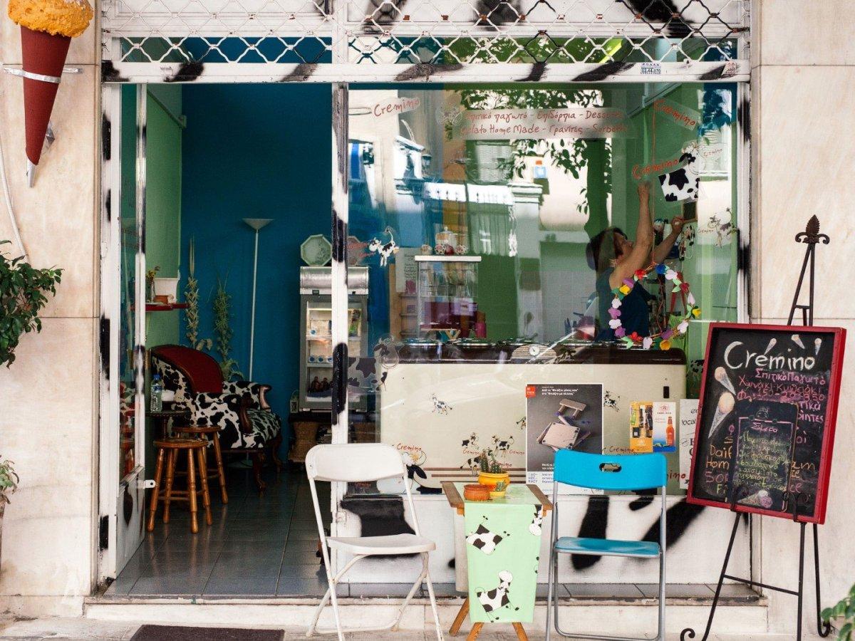 Cremino: Η τέχνη του σπιτικού παγωτού στο κέντρο της Αθήνας